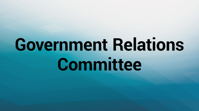 Government Relations Committee Text Graphic