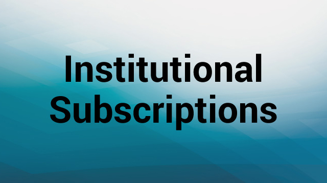 Institutional Subscribers