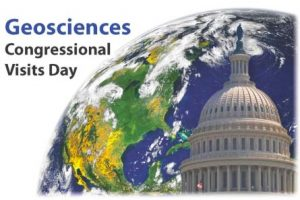 Geosciences Congressional Visits Day Logo