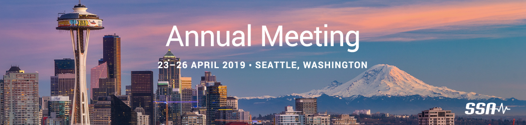 SSA 2019 Annual Meeting
