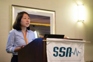 Isabel Hong Presenting at SSA Annual Meeting