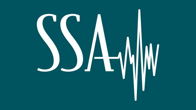 SSA logo teal graphic