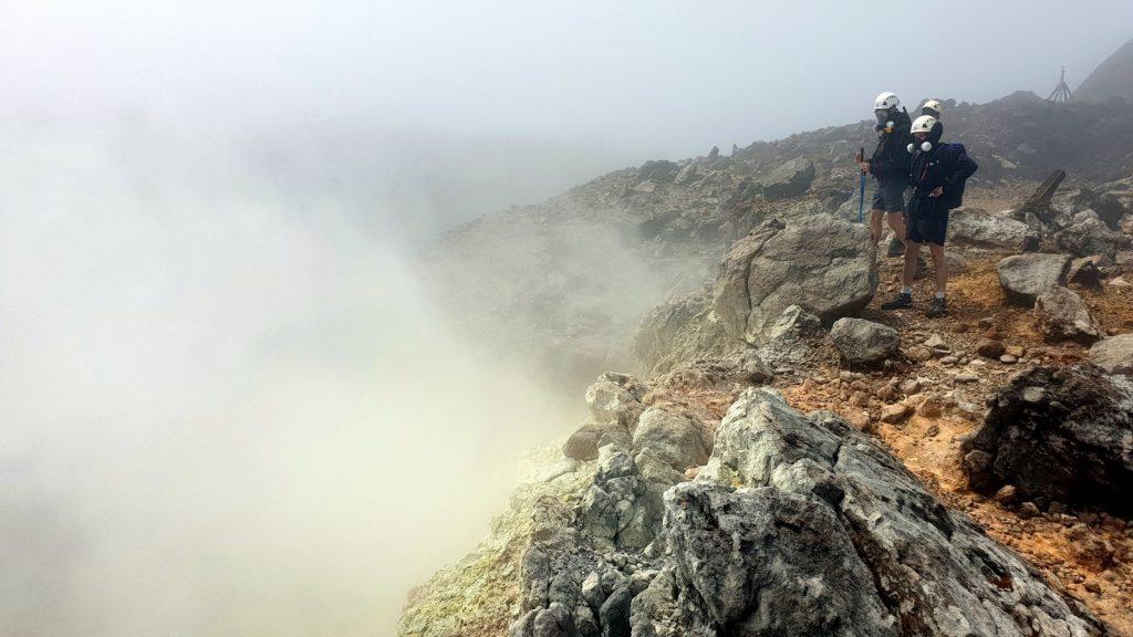 La Soufrière de Guadeloupe volcano