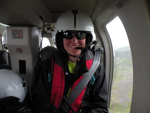 Amanda Lough airplane