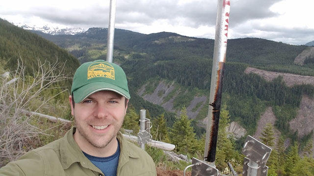 Brian Terbush on Mt. Rainier
