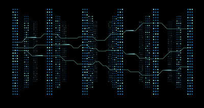illustration of a deep neural network