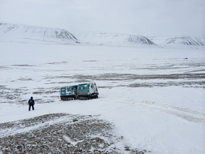 Svalbard seismic installation