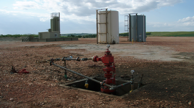 injection well head